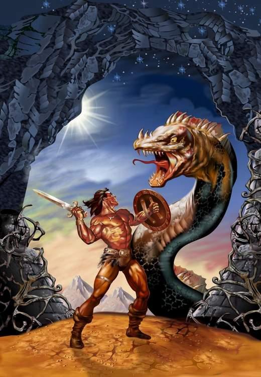 Conan illustration par Alex Ross (thread illustrations) Konan_fin