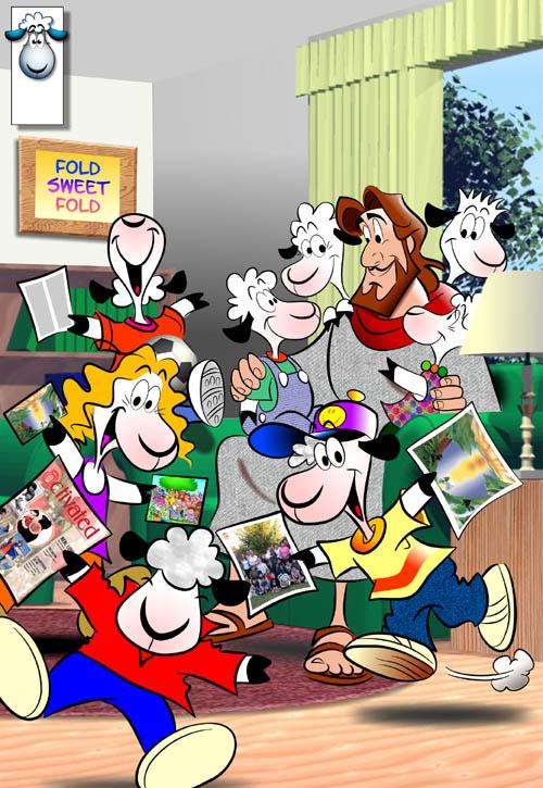Happy Days Cartoon