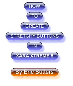 How to Create Stretchy Buttons Tutorial ©Eric Butters