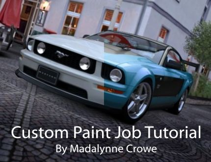 Custom Paint Job Tutorial By Madalynne Crowe
