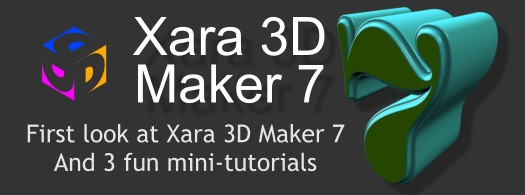 Xara 3D Maker Version 7