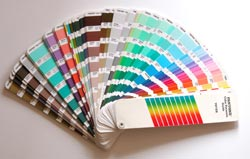 a pantone fan book of swatches - Pantone Color Books